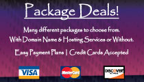 We have package Deals to Save You Money